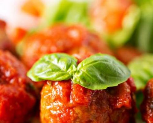 Chicken Sausage Meatballs